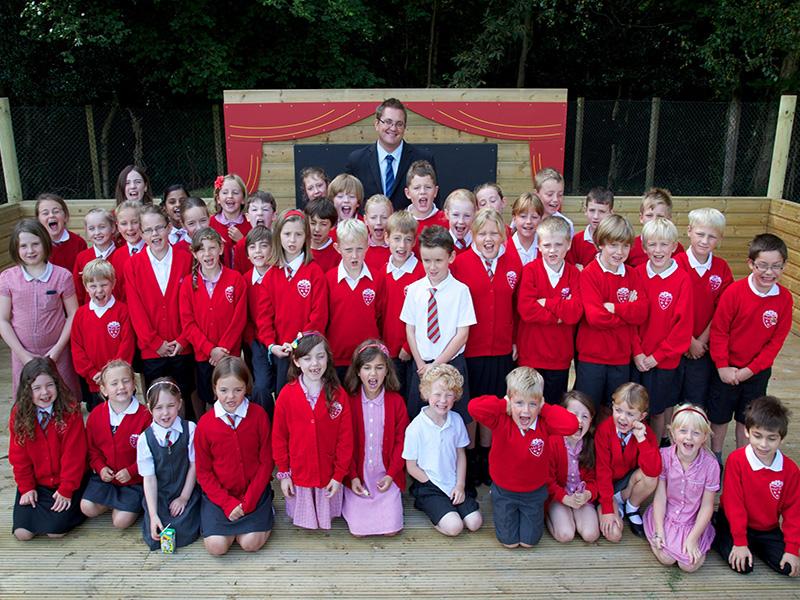 St Nicholas School Photograph