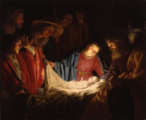 Gerard van Honthorst - Adoration of the Shepherds